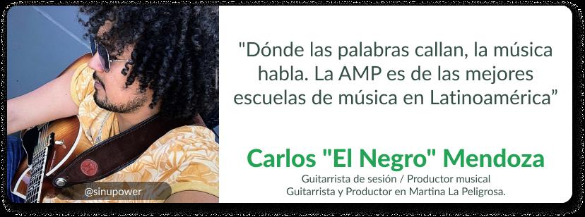 Carlos _El Negro_ Mendoza