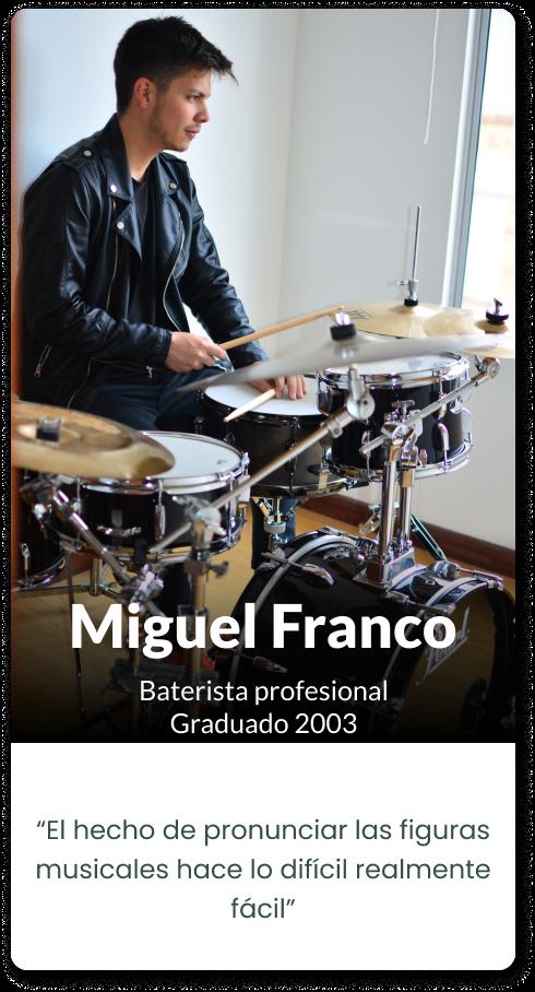 Mobile Miguel Franco